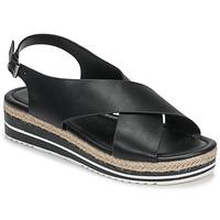 Topánky Ženy Sandále Moony Mood MELANIE Čierna