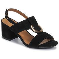 Topánky Ženy Sandále Moony Mood MANY Čierna