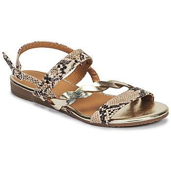 Topánky Ženy Sandále Moony Mood MELINDA Hadí vzor