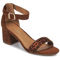 Topánky Ženy Sandále Moony Mood MEDIO Leopard