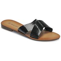Topánky Ženy Šľapky Moony Mood MADISON Čierna