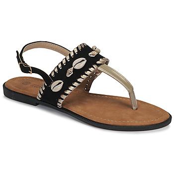 Topánky Ženy Žabky Moony Mood MARISE Čierna