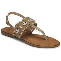 Topánky Ženy Sandále Moony Mood MARISE Béžová