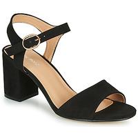 Topánky Ženy Sandále Moony Mood MEGANE Čierna