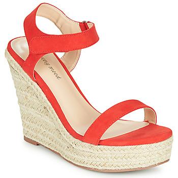 Topánky Ženy Sandále Moony Mood MARLEINE Červená