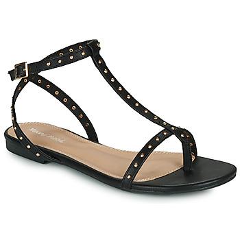 Topánky Ženy Sandále Moony Mood MARIELLE Čierna