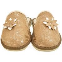 Topánky Ženy Papuče John-C Dámske hnedé papuče FLOWA ťavia