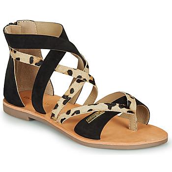 Topánky Ženy Sandále Les Tropéziennes par M Belarbi POPS Čierna / Leopard