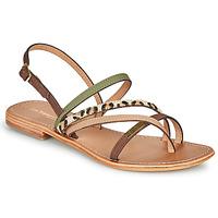 Topánky Ženy Sandále Les Tropéziennes par M Belarbi HOUKA Kaki / Viacfarebná