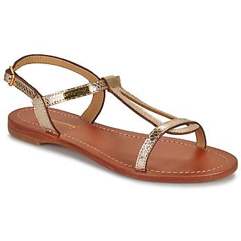 Topánky Ženy Sandále Les Tropéziennes par M Belarbi HAMAT Zlatá / Hadí vzor