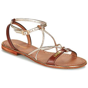 Topánky Ženy Sandále Les Tropéziennes par M Belarbi HIRONDEL Svetlá hnedá / Zlatá