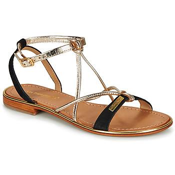Topánky Ženy Sandále Les Tropéziennes par M Belarbi HIRONBUC Čierna / Zlatá