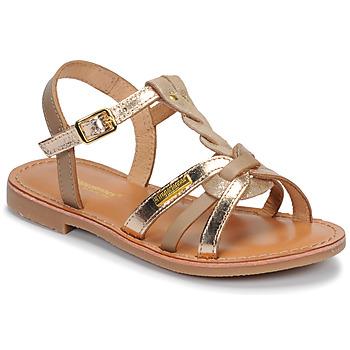 Topánky Dievčatá Sandále Les Tropéziennes par M Belarbi BADAMI Béžová / Zlatá