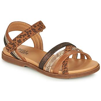 Topánky Dievčatá Sandále Bullboxer ELYSA Hnedá
