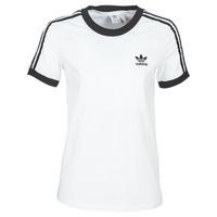 Oblečenie Ženy Tričká s krátkym rukávom adidas Originals 3 STR TEE Biela