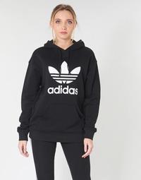 Oblečenie Ženy Mikiny adidas Originals TRF HOODIE Čierna