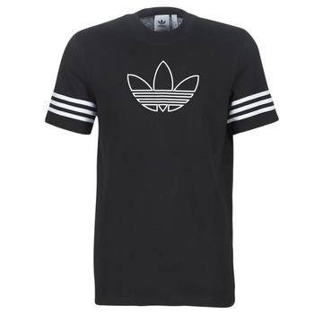 Oblečenie Muži Tričká s krátkym rukávom adidas Originals OUTLINE TEE Čierna