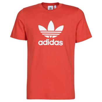 Oblečenie Muži Tričká s krátkym rukávom adidas Originals TREFOIL T-SHIRT Červená