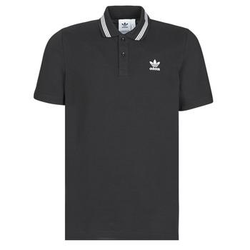 Oblečenie Muži Polokošele s krátkym rukávom adidas Originals PIQUE POLO Čierna