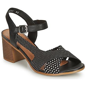 Topánky Ženy Sandále Remonte Dorndorf MOSKI Čierna / Biela
