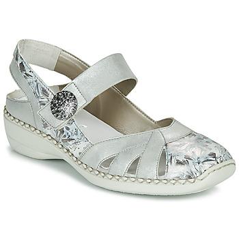 Topánky Ženy Sandále Rieker KYLIAN Strieborná
