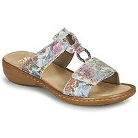 Topánky Ženy Šľapky Rieker MOLA Viacfarebná
