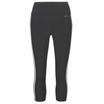 Oblečenie Ženy Legíny adidas Performance D2M 3S 34 TIG Čierna