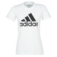 Oblečenie Ženy Tričká s krátkym rukávom adidas Performance BOS CO TEE Biela