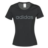 Oblečenie Ženy Tričká s krátkym rukávom adidas Performance D2M LO TEE Čierna
