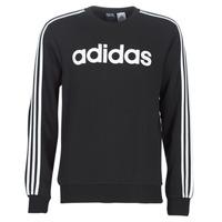 Oblečenie Muži Mikiny adidas Performance E 3S CREW FL Čierna