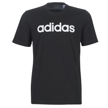 Oblečenie Muži Tričká s krátkym rukávom adidas Performance E LIN TEE Čierna