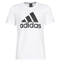 Oblečenie Muži Tričká s krátkym rukávom adidas Performance MH BOS Tee Biela