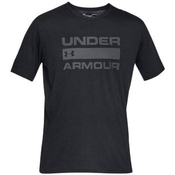 Oblečenie Muži Tričká s krátkym rukávom Under Armour Team Issue Wordmark Čierna