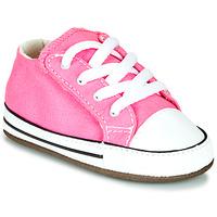 Topánky Dievčatá Členkové tenisky Converse CHUCK TAYLOR FIRST STAR CANVAS HI Ružová