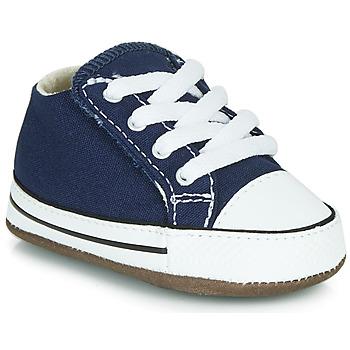 Topánky Deti Členkové tenisky Converse CHUCK TAYLOR FIRST STAR CANVAS HI Modrá