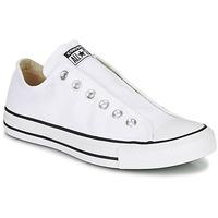 Topánky Ženy Slip-on Converse Chuck Taylor All Star Slip Core Basics Biela