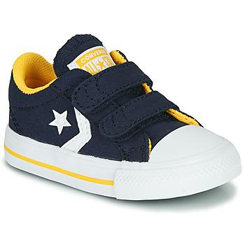 Topánky Chlapci Nízke tenisky Converse STAR PLAYER 2V VARSITY CANVAS Modrá