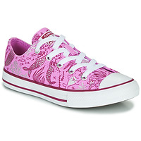 Topánky Dievčatá Členkové tenisky Converse Chuck Taylor All Star Underwater Party Ružová / Viacfarebná