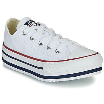 Topánky Dievčatá Členkové tenisky Converse CHUCK TAYLOR ALL STAR PLATFORM EVA EVERYDAY EASE Biela