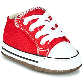 Topánky Deti Členkové tenisky Converse CHUCK TAYLOR ALL STAR CRIBSTER CANVAS COLOR Červená