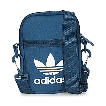 Tašky Vrecúška a malé kabelky adidas Originals FEST BAG TREF Modrá / Námornícka modrá / Nočná obloha
