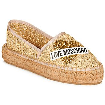 Topánky Ženy Espadrilky Love Moschino JA10393G0A Béžová