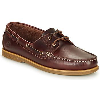 Topánky Muži Námornícke mokasíny Lumberjack NAVIGATOR Hnedá