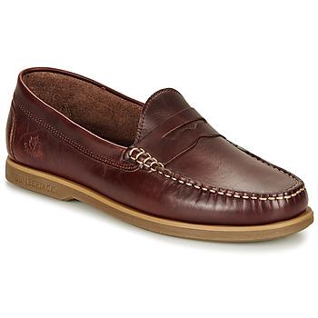Topánky Muži Mokasíny Lumberjack NAVIGATOR Hnedá
