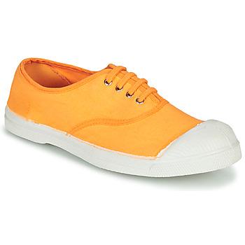 Topánky Ženy Nízke tenisky Bensimon TENNIS LACET Oranžová
