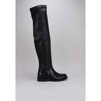Topánky Ženy Cizmy Nad Kolenà Roberto Torretta  Čierna