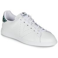 Topánky Ženy Nízke tenisky Victoria TENIS PIEL SERPIENTE Biela / Modrá