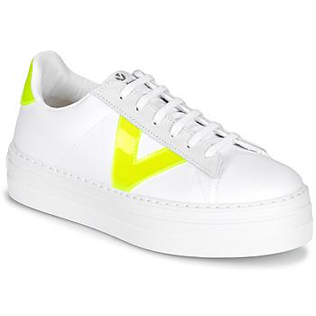 Topánky Ženy Nízke tenisky Victoria BARCELONA LONA Biela