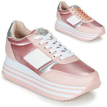 Topánky Ženy Nízke tenisky Victoria COMETA DOBLE METAL Ružová