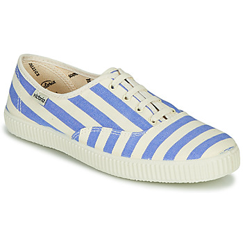 Topánky Ženy Nízke tenisky Victoria NUEVO RAYAS Biela / Modrá